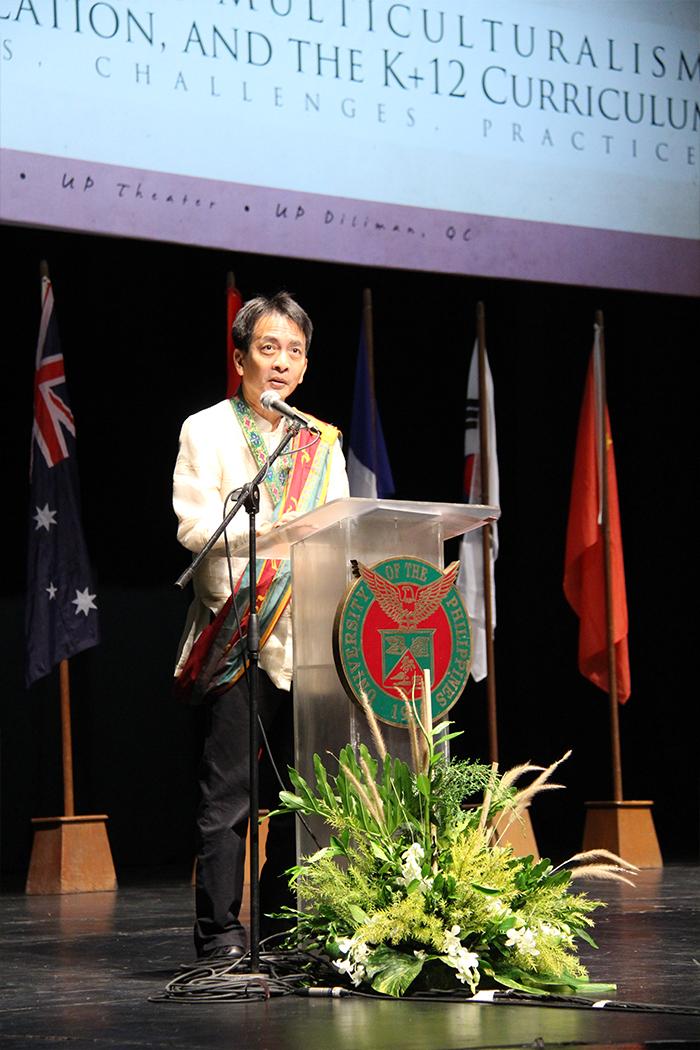 UPD Chancellor Michael L. Tan