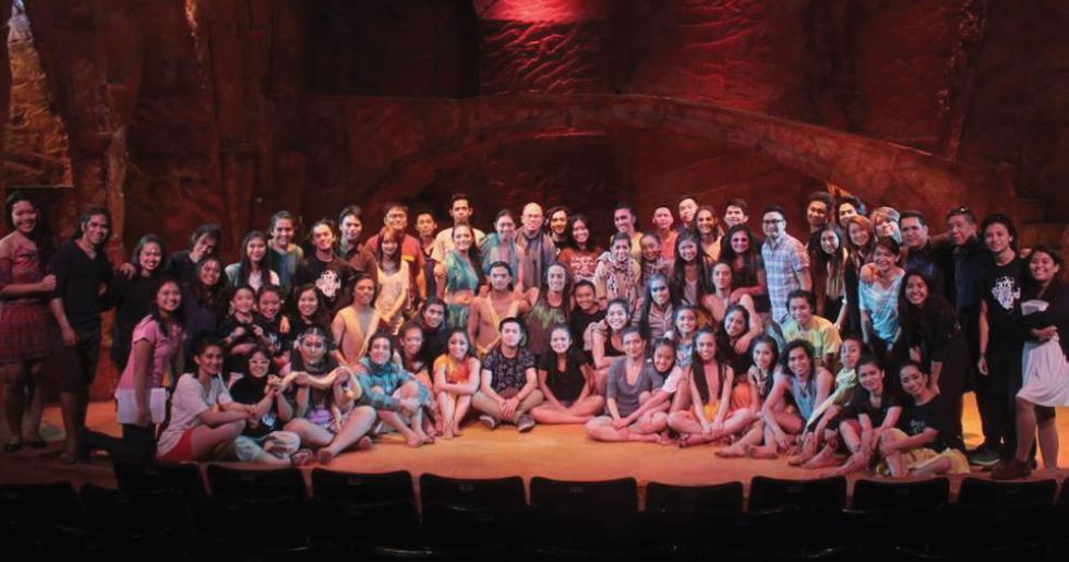 """Cast and crew of """"Ang Nawalang Kapatid."""""""
