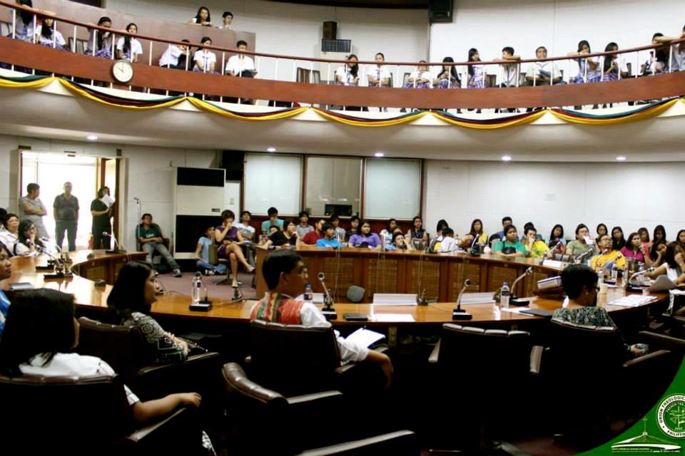 Dinaluhan ang programang ginanap sa CM Recto Hall ng Bulawagang Rizal ng mga mag-aaral sa hayskul,  kolehiyo, mga iskolar, at iba pang bisita.