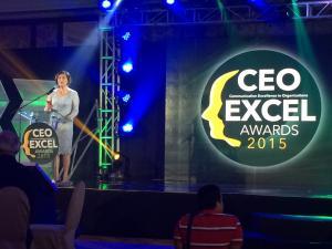 Pernia_CEO EXCEL Awards Night 2015