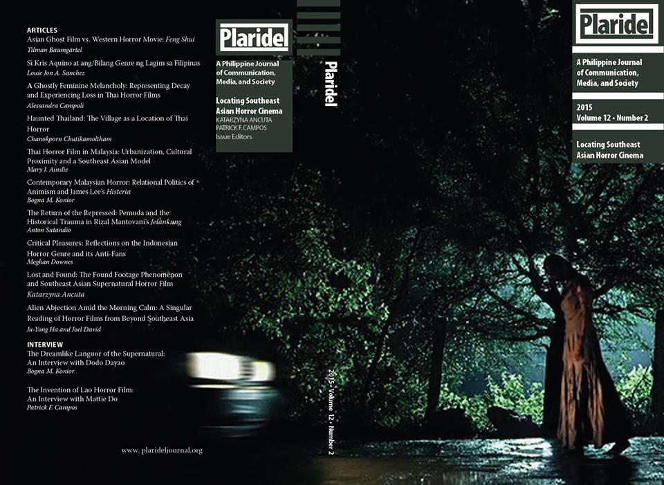 Plaridel Journal Issue 12 Volumes 2