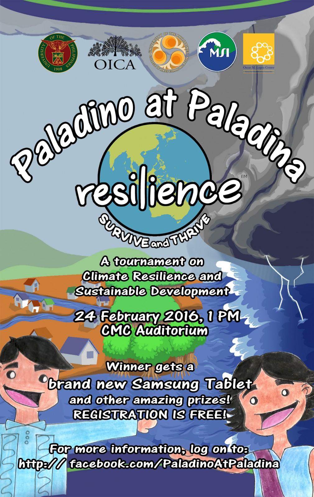paladino at paladina bulletin poster