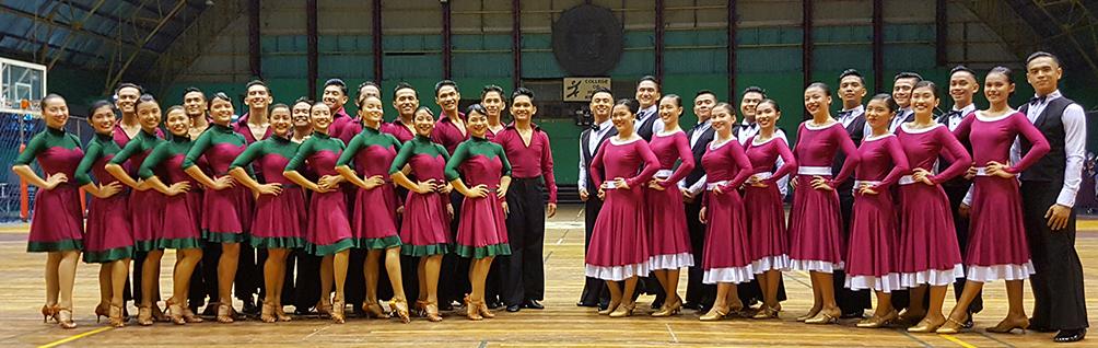 up ballroom formation team