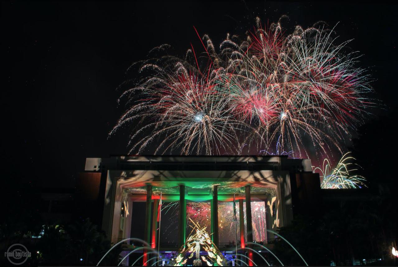 Lantern Parade 2019 fireworks display